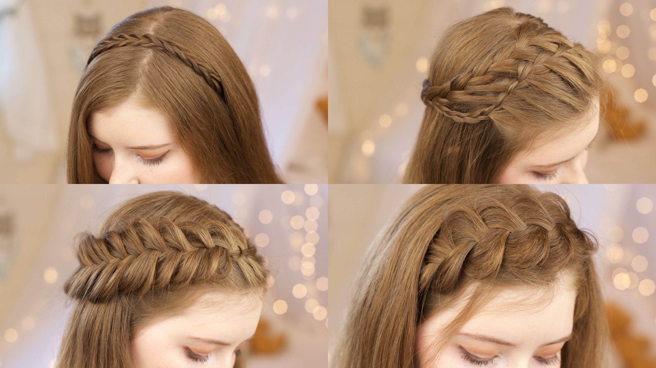 Preferred Braided Hairstyles To The Back In 5 Headband Braids (View 13 of 15)