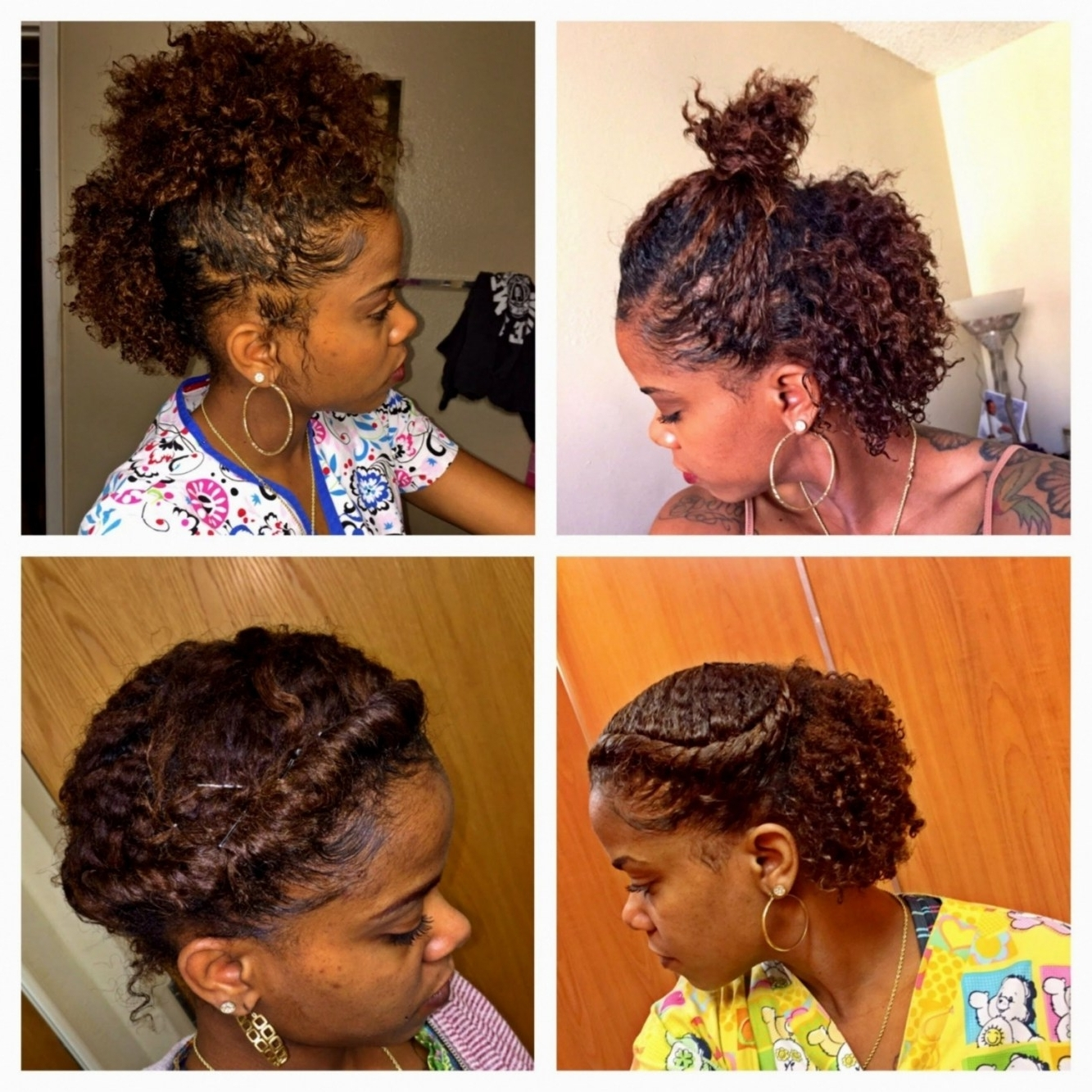 Preferred Braided Hairstyles With Real Hair Intended For Easy Braided Hairstyles Natural Hair – Hairstyle Pop (View 11 of 15)