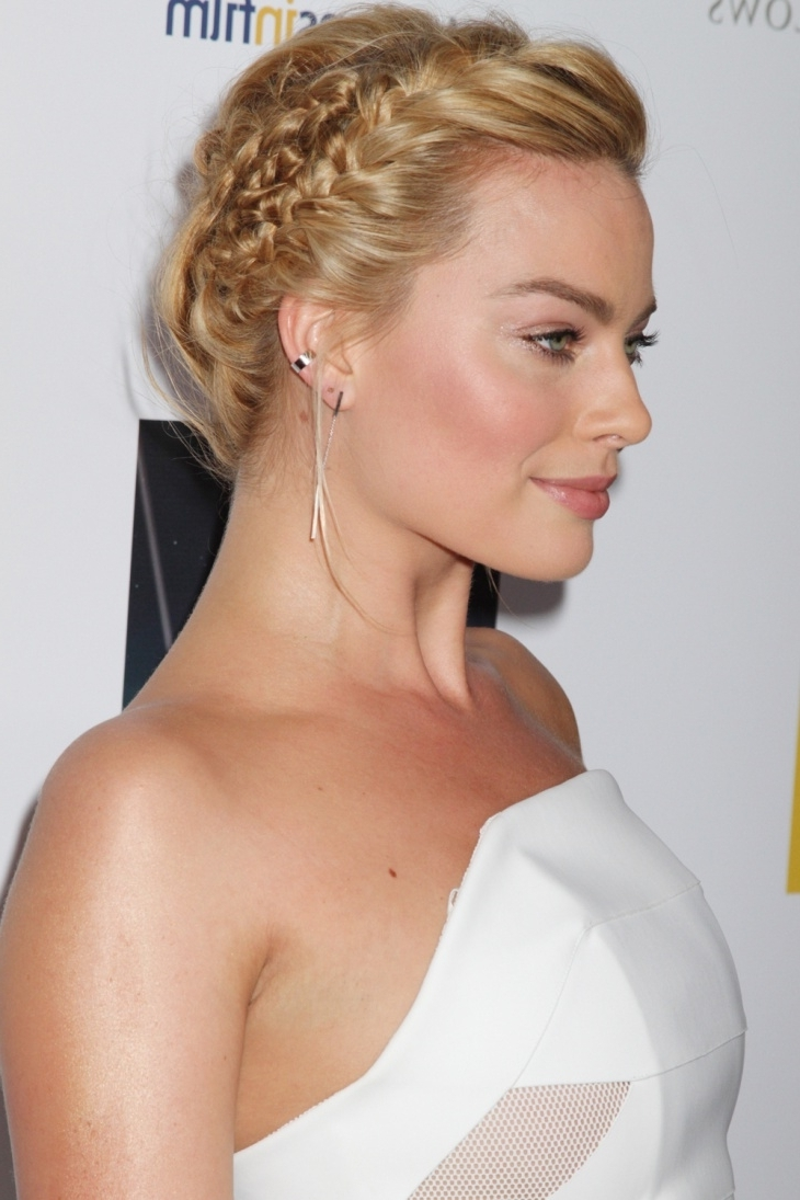 Preferred Elegant Braid Hairstyles With Regard To 21+ Braided Updo Hairstyle Ideas, Designs (View 7 of 15)