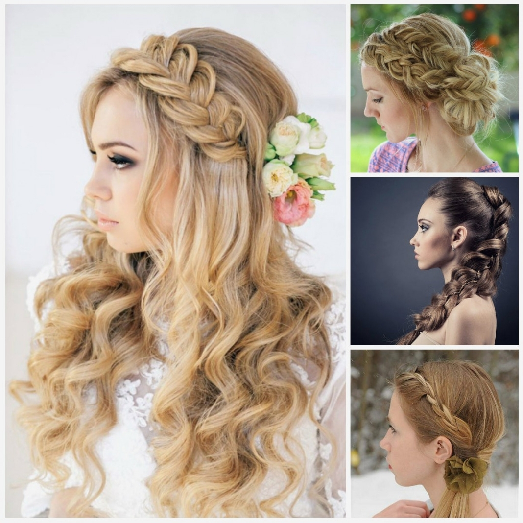 Preferred Prom Braided Hairstyles Pertaining To Braid Hairstyles : Awesome Prom Side Braid Hairstyles Tips On (View 14 of 15)