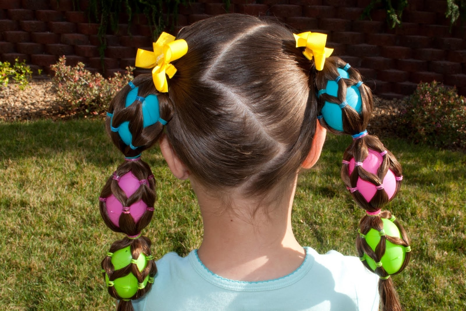 Princess Piggies: A Little Something Eggstra Within Preferred Easter Braid Hairstyles (View 11 of 15)