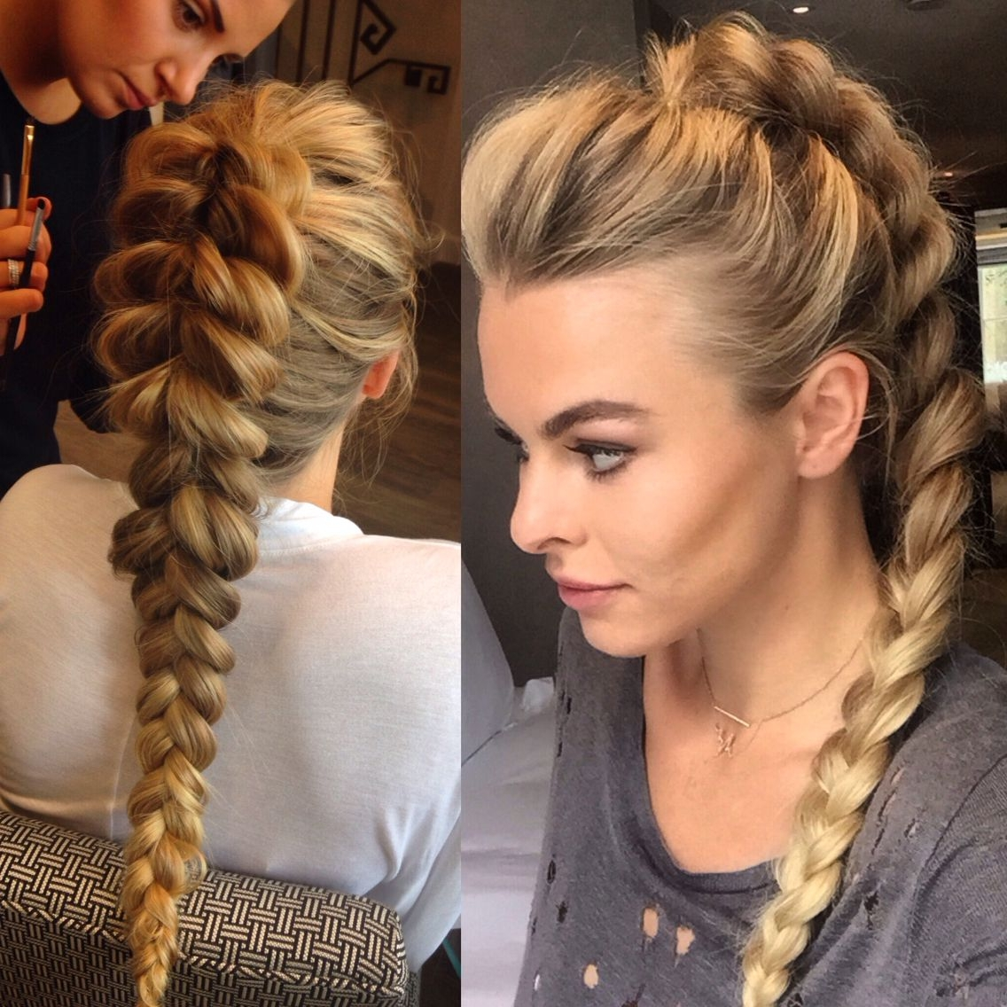 Pull Through Ponytail Braid Braids Amazing Of Braided Hairstyles In Intended For 2017 Ponytail Braided Hairstyles (View 12 of 15)