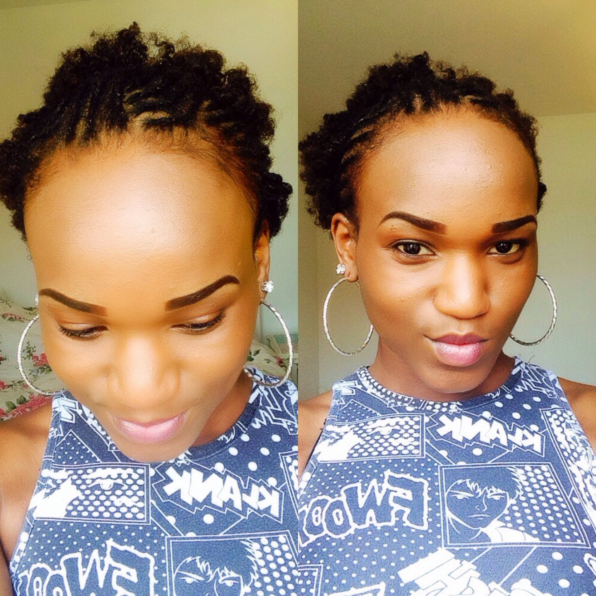 Featured Photo of Braided Hairstyles Cover Forehead