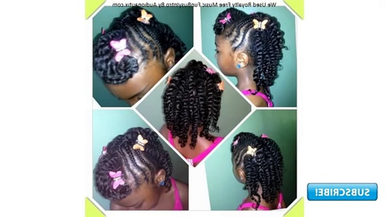 Recent Braided Hairstyles For Little Black Girls In Braided Hairstyles For Little Black Girls – Video Dailymotion (Gallery 15 of 15)