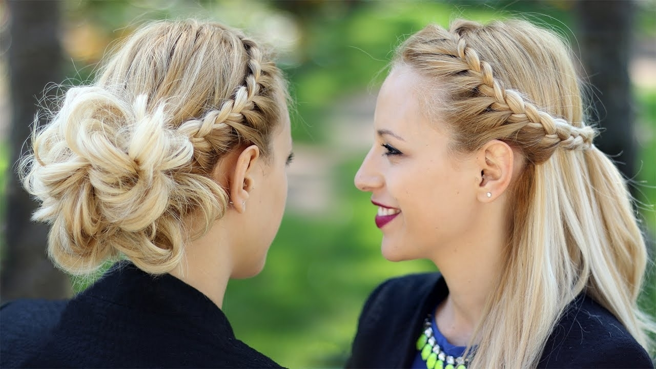 Recent Braided Hairstyles Intended For 14 Adorable Braided Hairstyles (Gallery 2 of 15)