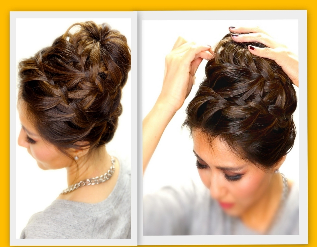 Recent Medium Length Braided Hairstyles With Regard To Braided Hairstyles For Medium Length Hair Hairstyle For Modern Of (View 12 of 15)