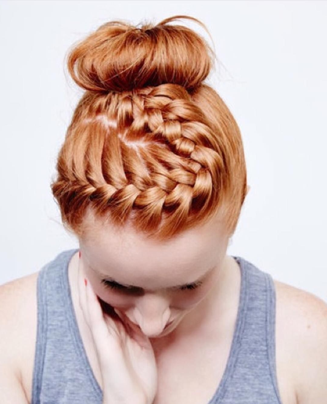 Red And Auburn Pertaining To Well Known Braided Hairstyles For Red Hair (Gallery 5 of 15)
