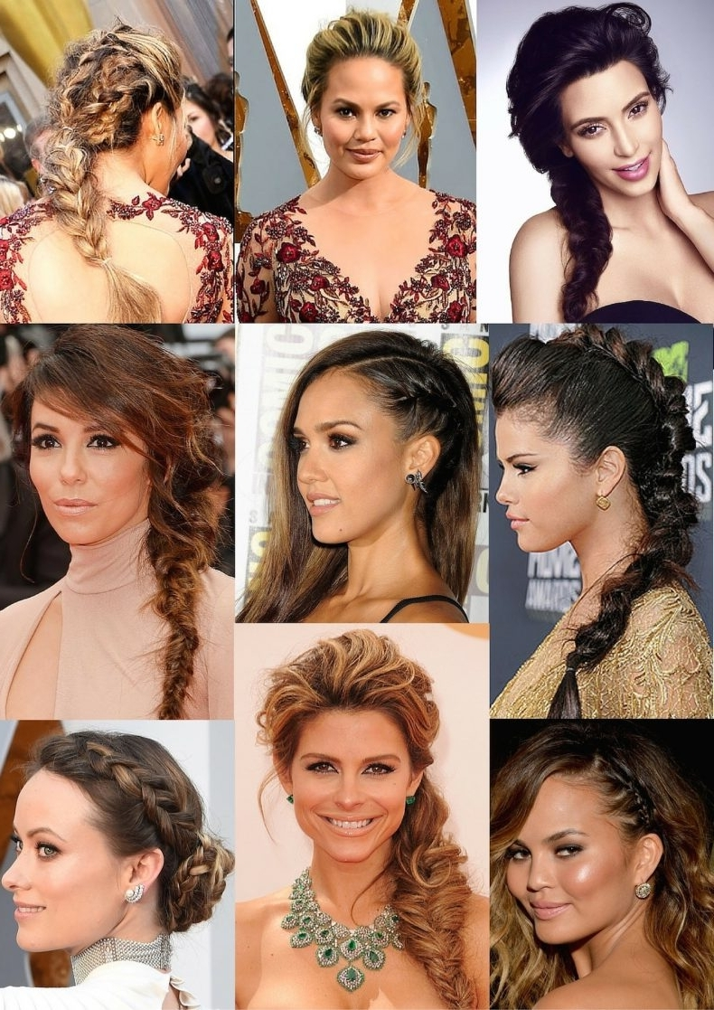 Red Carpet Inspired Hairstyles For Any Occasion With Regard To Most Recent Red Carpet Braided Hairstyles (View 13 of 15)