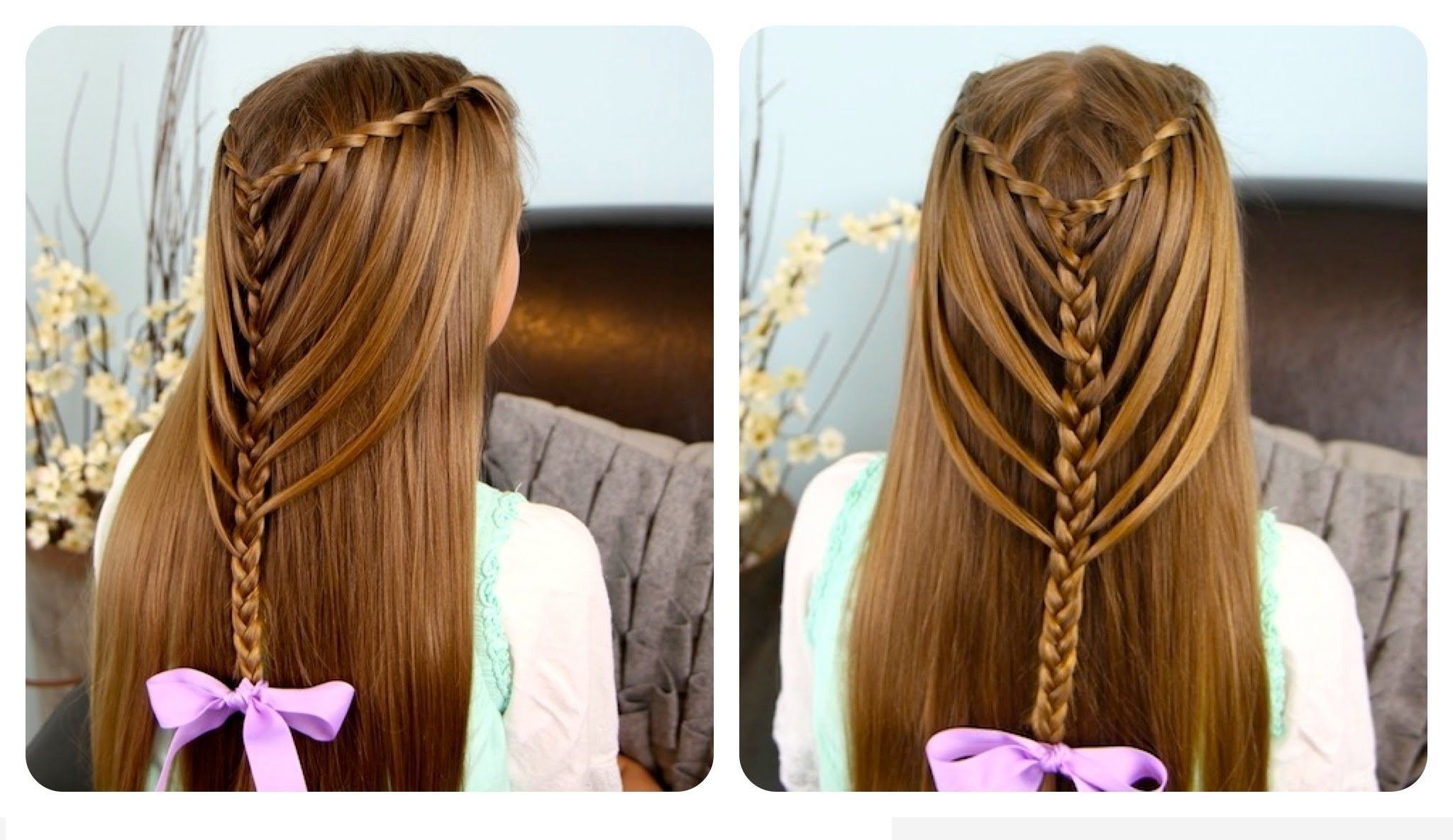 Shocking Braid Hairstyles With Straight Hair Haircutsboyco Picture With Regard To Most Recent Braided Hairstyles For Straight Hair (View 6 of 15)