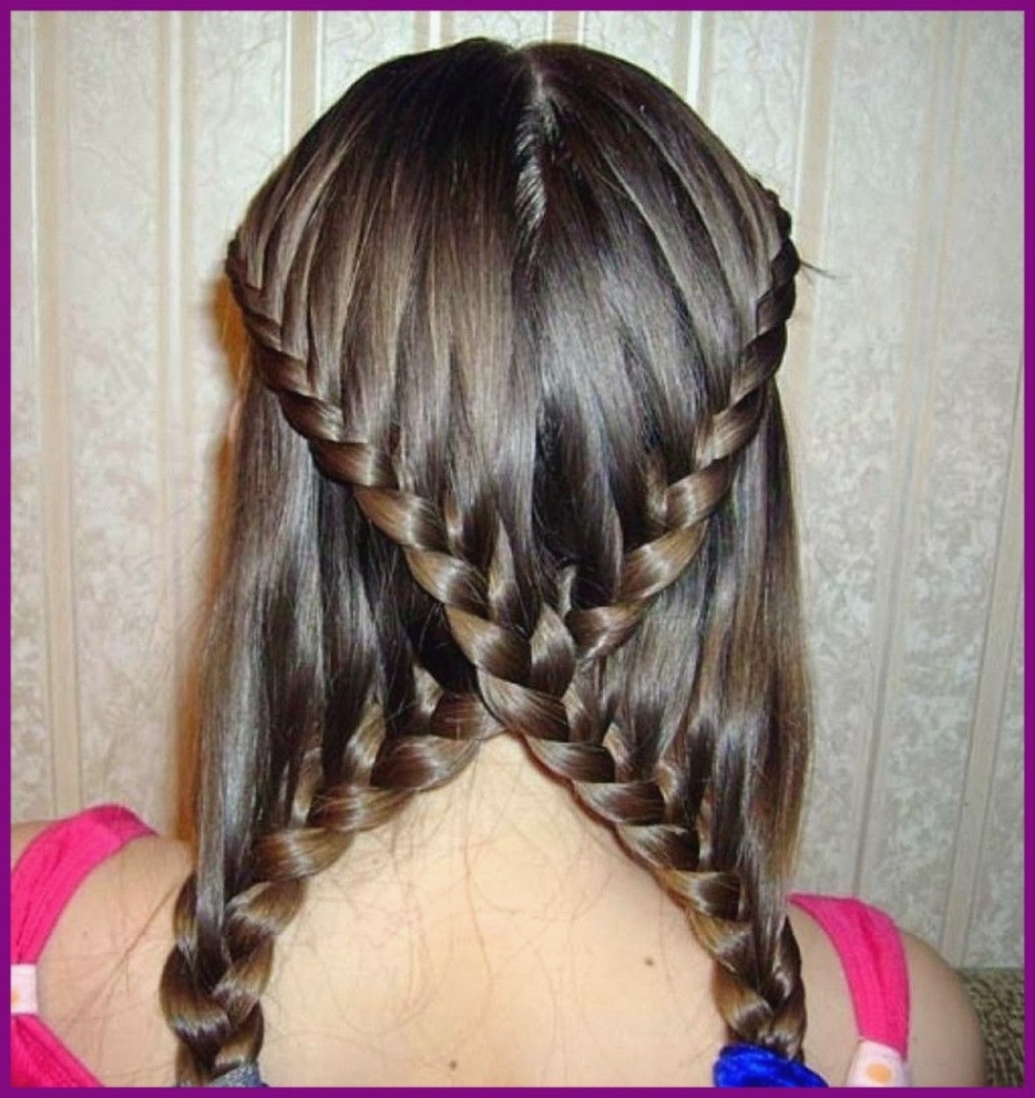 Shocking Long Curly Braided Hairstyle For Hair Picture Plait Popular Inside Best And Newest Curly Braid Hairstyles (View 6 of 15)