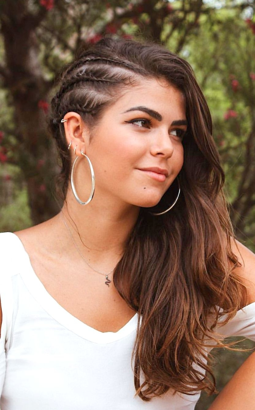 Side Braid Hairstyles – Leymatson Throughout Trendy Braided Hairstyles On The Side (View 10 of 15)