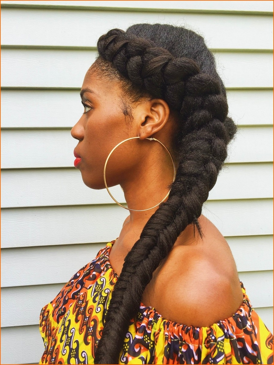 Photo Gallery Of Braided Hairstyles For Short African American Hair