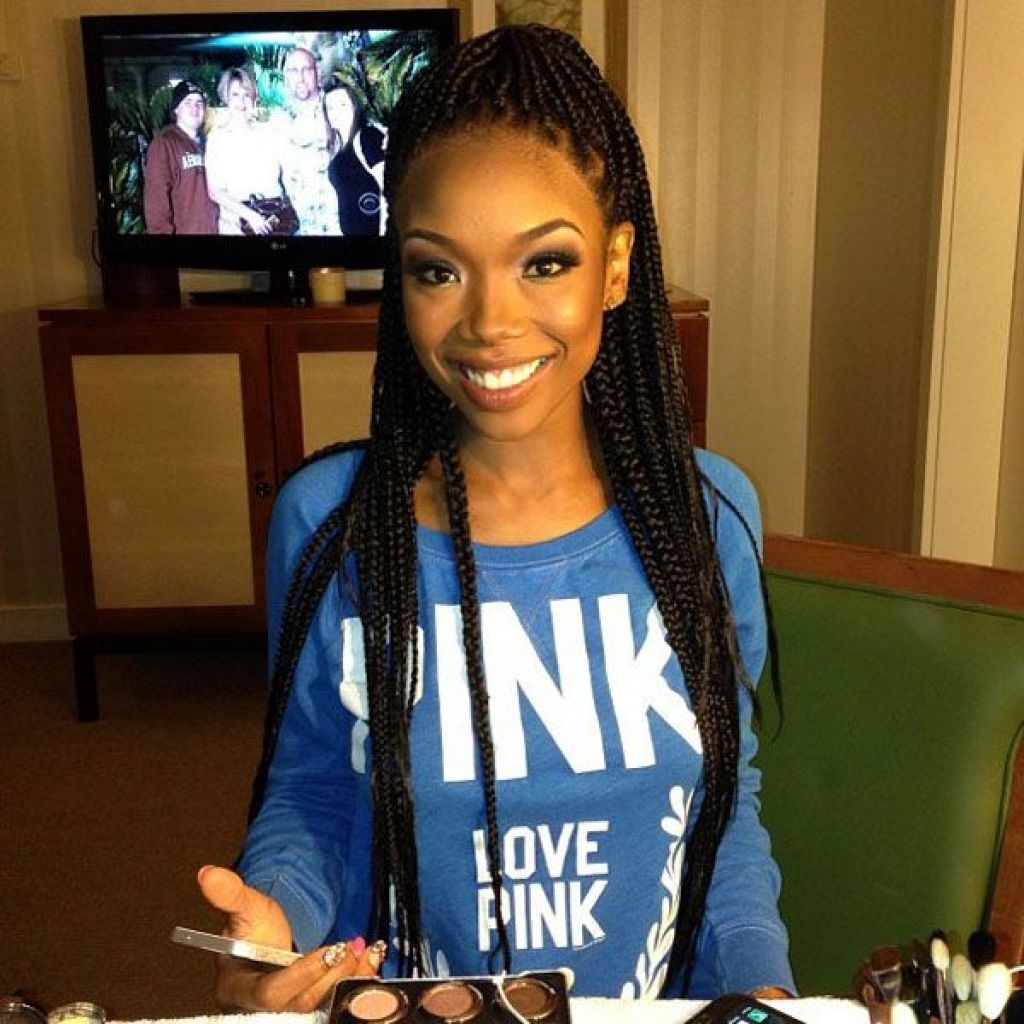 Spectacular Long Box Braids Hairstyles  (View 13 of 15)