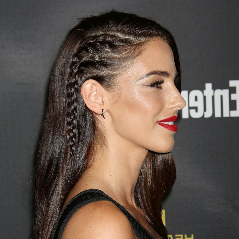 Featured Photo of Braided Hairstyles On The Side