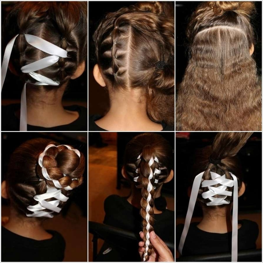Stunning And Unique Ribbon Braided Hairstyles Pertaining To Newest Braided Ribbon Hairstyles (View 15 of 15)
