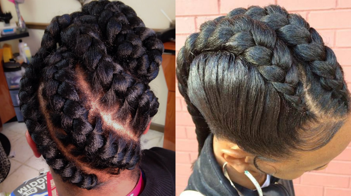 Stunning Goddess Braids Hairstyles For Black Women Easy Of Braid With Regard To Preferred Goddess Braid Hairstyles (View 9 of 15)
