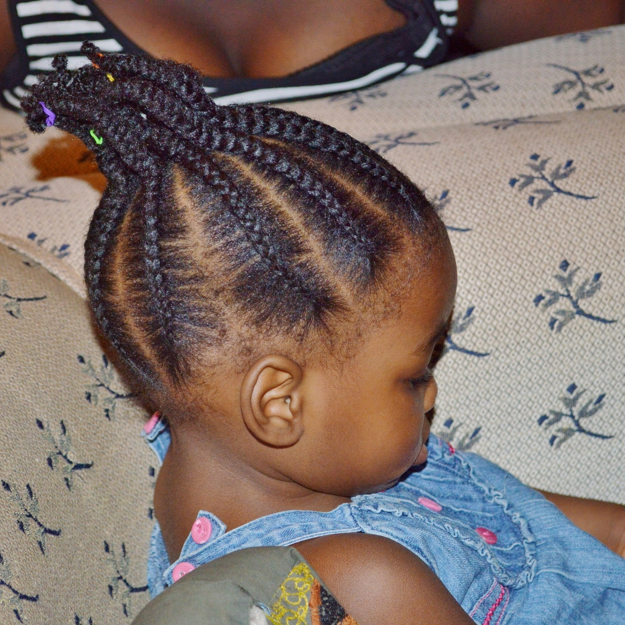 Styling Your Toddler's Natural Hair – Jam And Tea With Regard To 2018 Toddlers Braided Hairstyles (View 12 of 15)