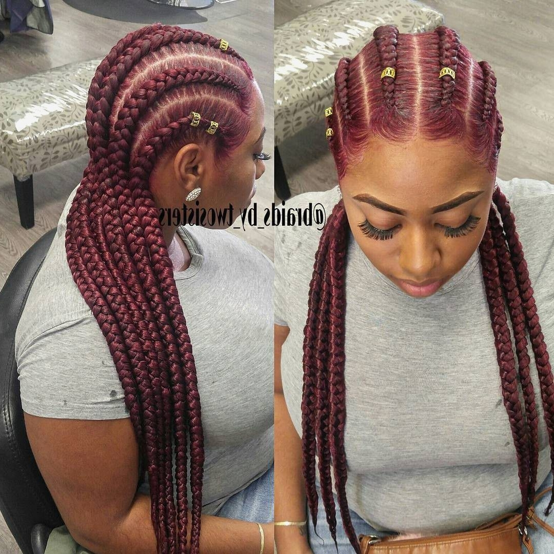 Photo Gallery Of Nigerian Braid Hairstyles Viewing 10 Of 15 Photos