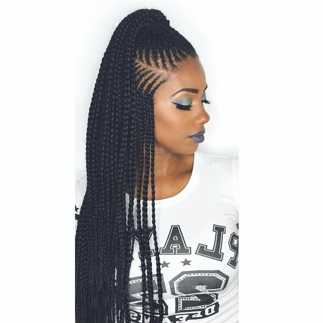 """Tiphaniemakeup (@tiphaniemakeup) On Instagram: """"african Queen Pertaining To Most Up To Date Queen Braided Hairstyles (View 6 of 15)"""