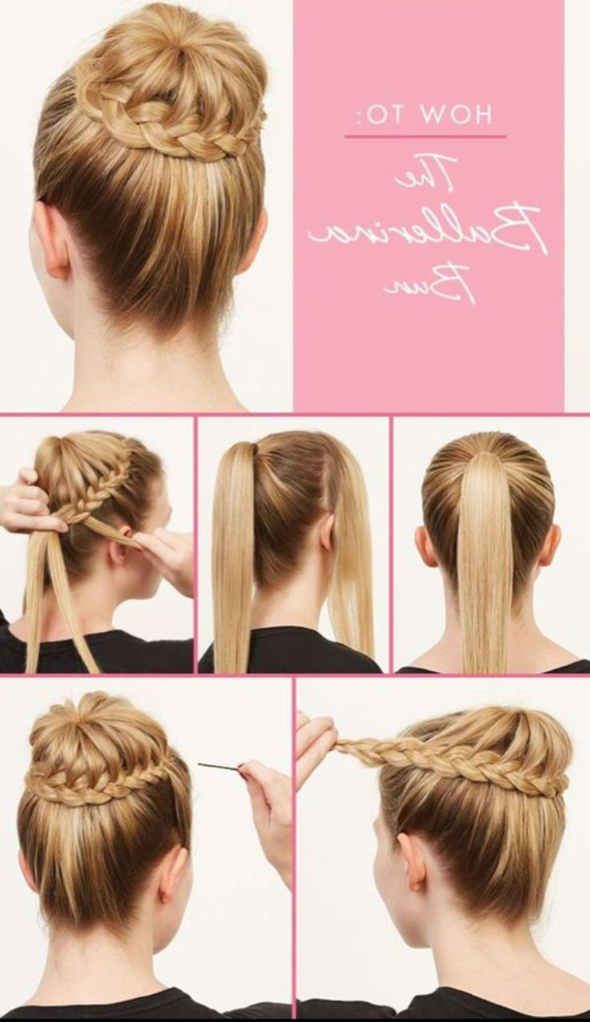 Top 10 Easy Braided Bun Hairstyle Tutorials For Every Hair Length! Throughout Latest Braid And Bun Hairstyles (View 14 of 15)