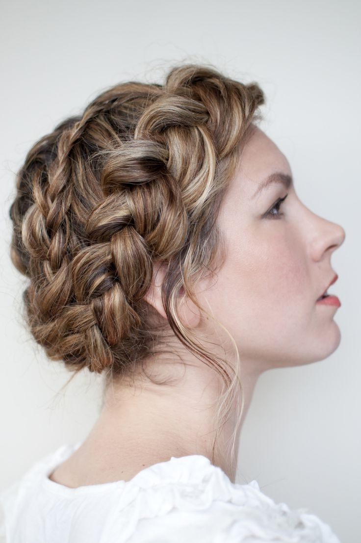 Top 14 Pretty Grecian Messy Braid Updo Designs – Easy Hairstyle Regarding Well Liked Braided Greek Hairstyles (View 15 of 15)