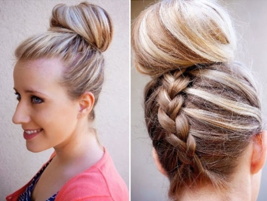 Trending Braids For Black Teen French Braid Hairstyles For Long Hair Regarding Most Recent Up Braided Hairstyles (View 12 of 15)