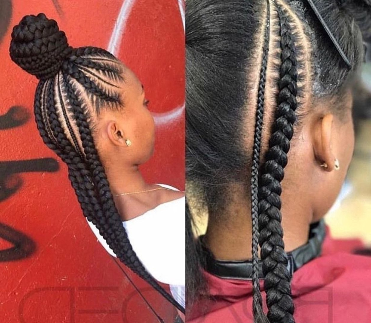 Trendy Braided Hairstyles For Afro Hair Regarding Afro Hair Concept As Well Ideas Amazing Braid Hairstyles For (View 13 of 15)