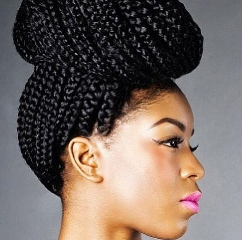 Trendy Braided Hairstyles For Afro Hair With African Braids 15 Stunning African Hair Braiding Styles Best Of (View 4 of 15)