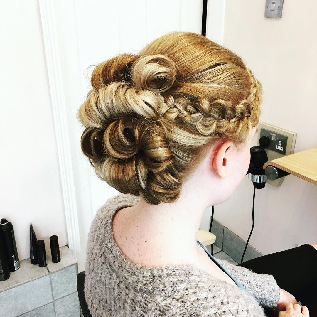 Trendy Braided Quinceaneras Hairstyles Inside 45 Gorgeous Quinceanera Hairstyles — Best Styles For Your (View 11 of 15)