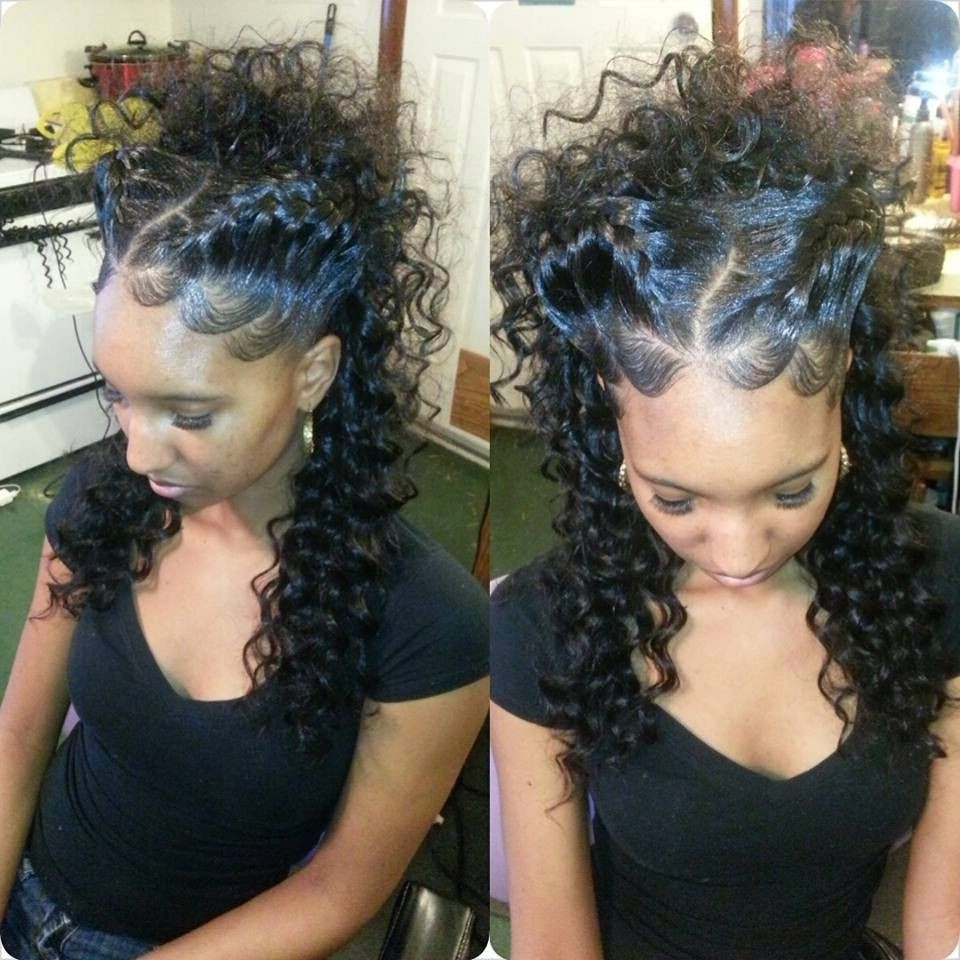 Trendy Braided Up Hairstyles With Weave For Black Updo Hairstyles With Weave Awesome Goddess Braid Updo Nice (View 14 of 15)
