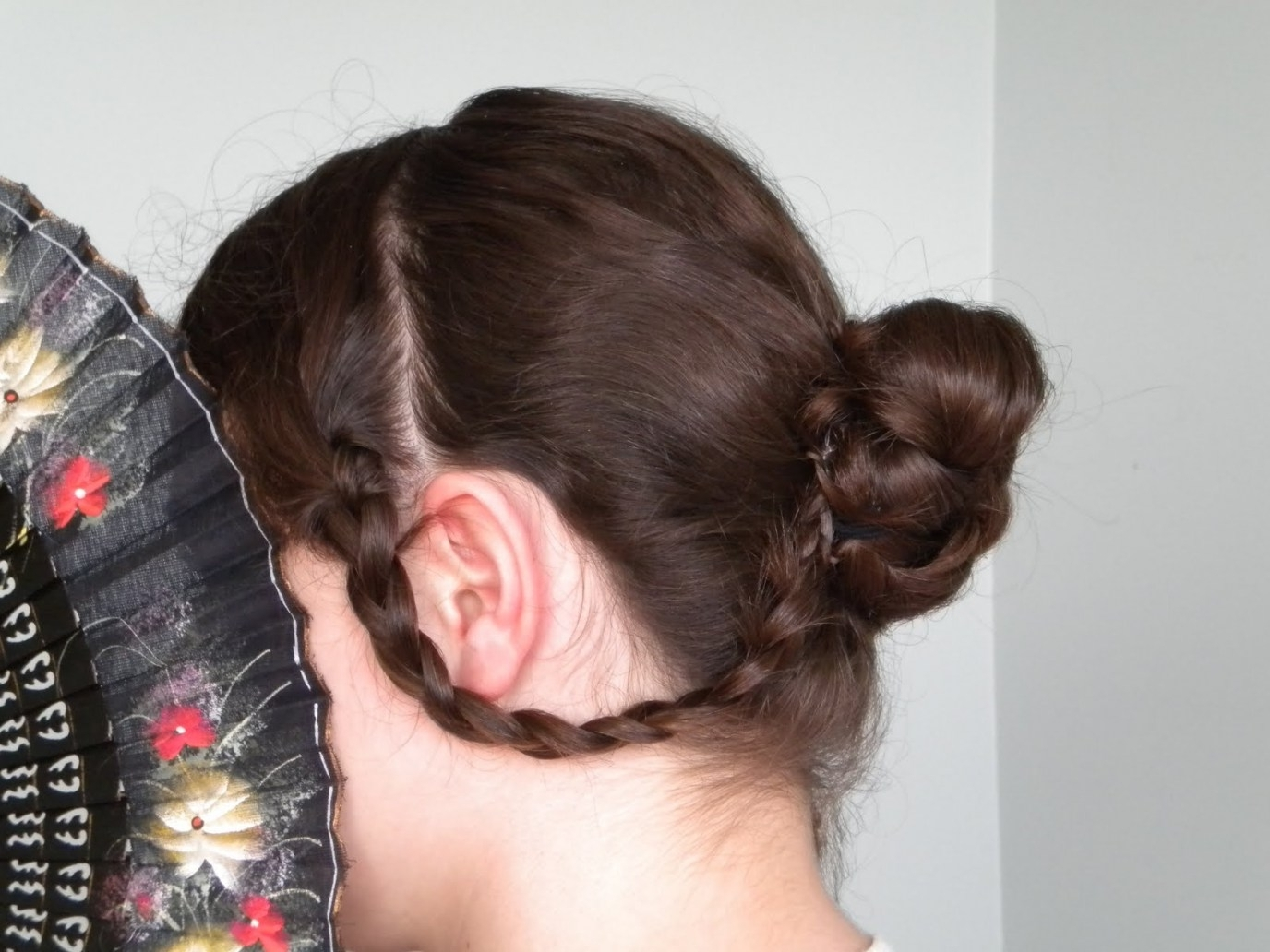 Trendy Braided Victorian Hairstyles With Hair Styles: Braided Victorian Hairstyle (View 5 of 15)