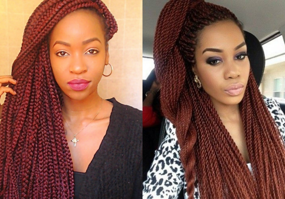 Twist Braid Hairstyles Maxresdefault Ideas Formidable Short Kinky Pertaining To Most Current Braided Hairstyles For Red Hair (View 10 of 15)