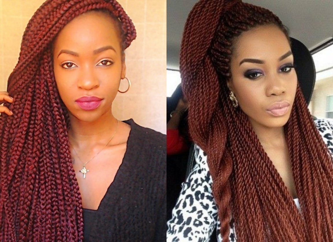 Twist Braid Hairstyles Maxresdefault Ideas Formidable Short Kinky With Preferred Red Braided Hairstyles (View 15 of 15)
