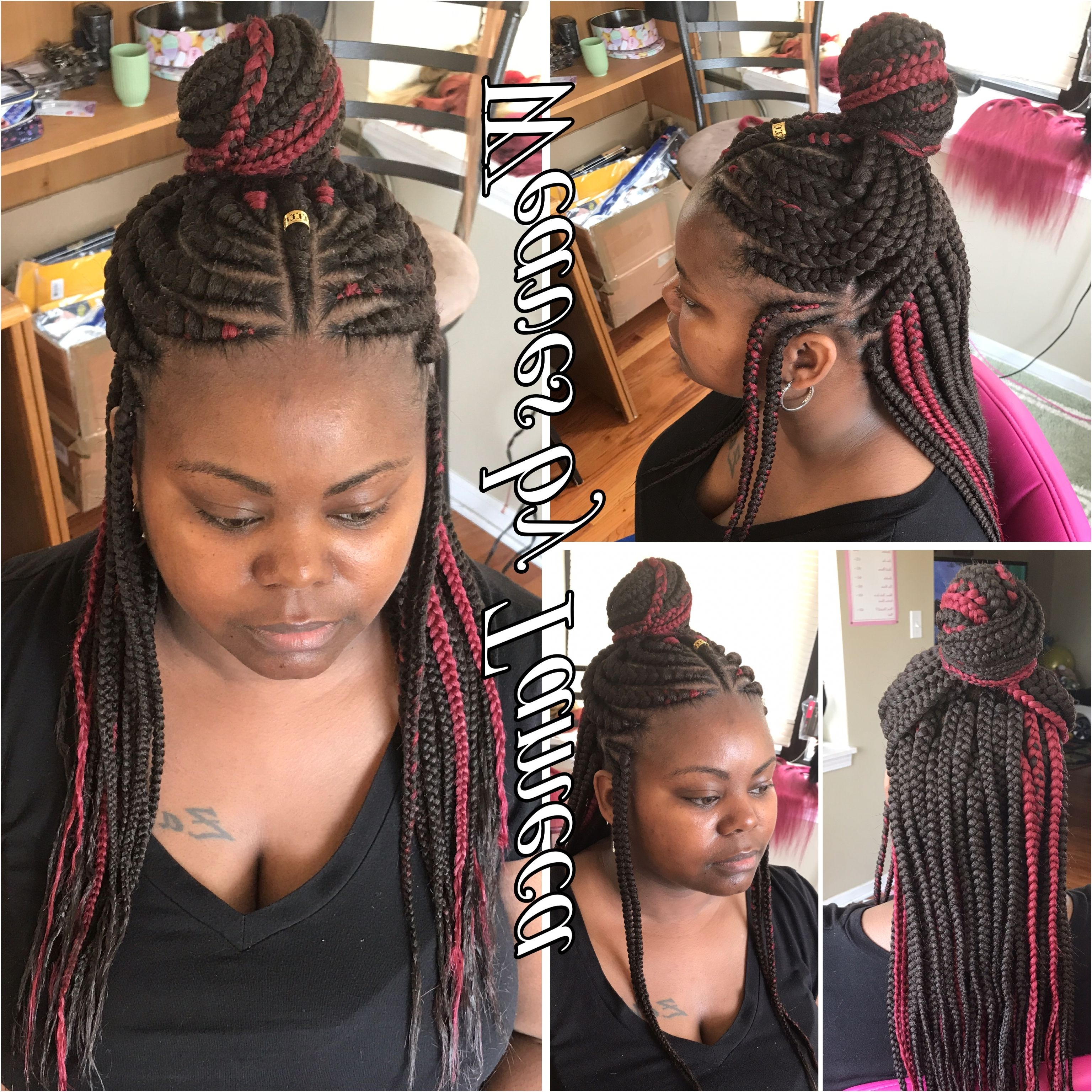 Featured Photo of Queen Braided Hairstyles