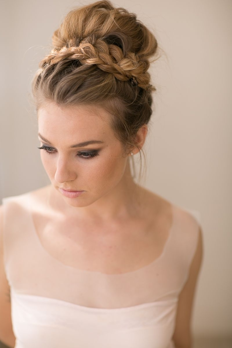 Wedding Hair For Best And Newest Braided Updo Hairstyles For Weddings (View 7 of 15)
