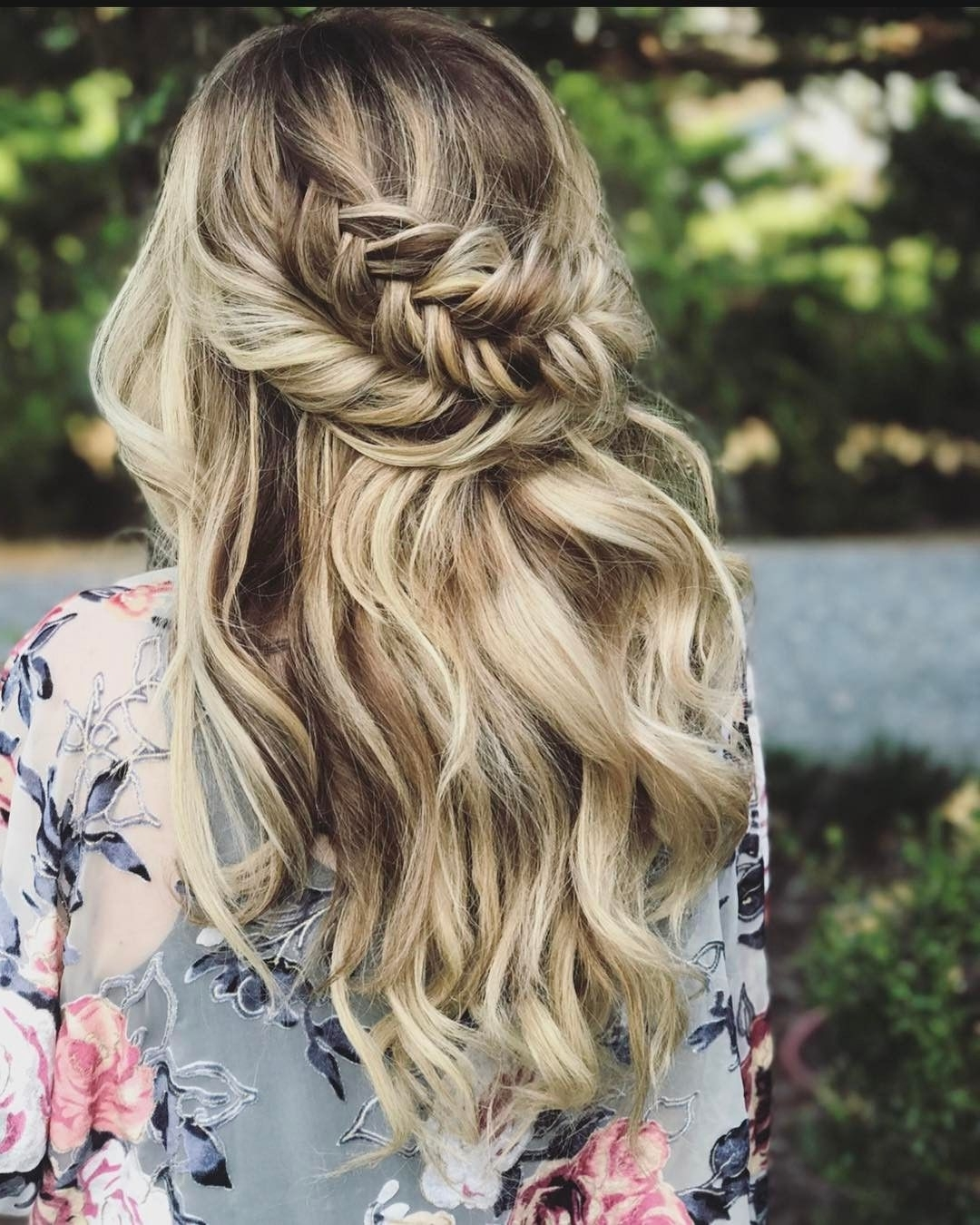 Wedding Hair Half Within Recent Up Braided Hairstyles (View 13 of 15)