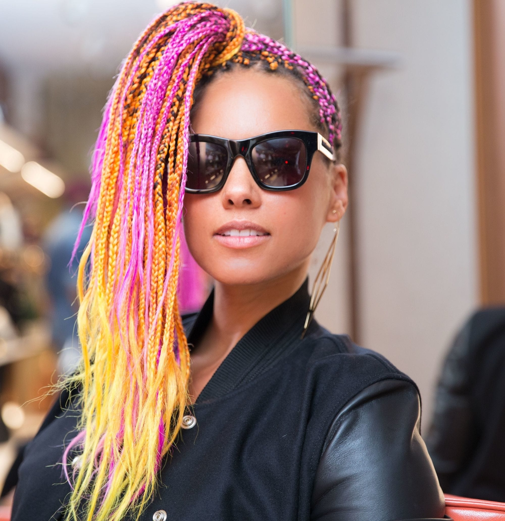 Well Known Alicia Keys Braided Hairstyles For Mane Moments: 11 Times Alicia Keys Had Us Fallin' For Her Hairstyles (View 12 of 15)