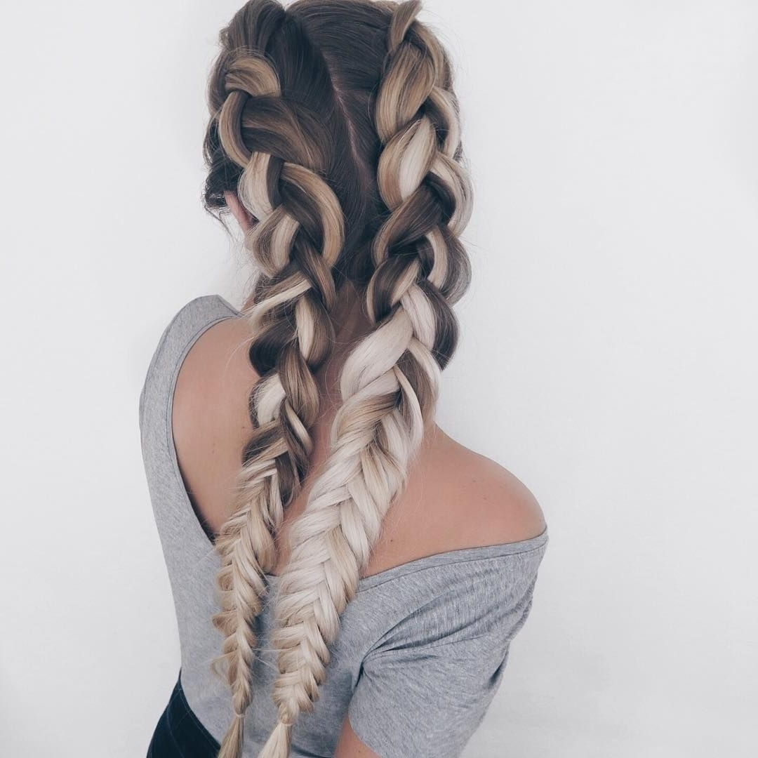 Well Known Blonde Braided Hairstyles Regarding See This Instagram Photo@sarah (View 14 of 15)
