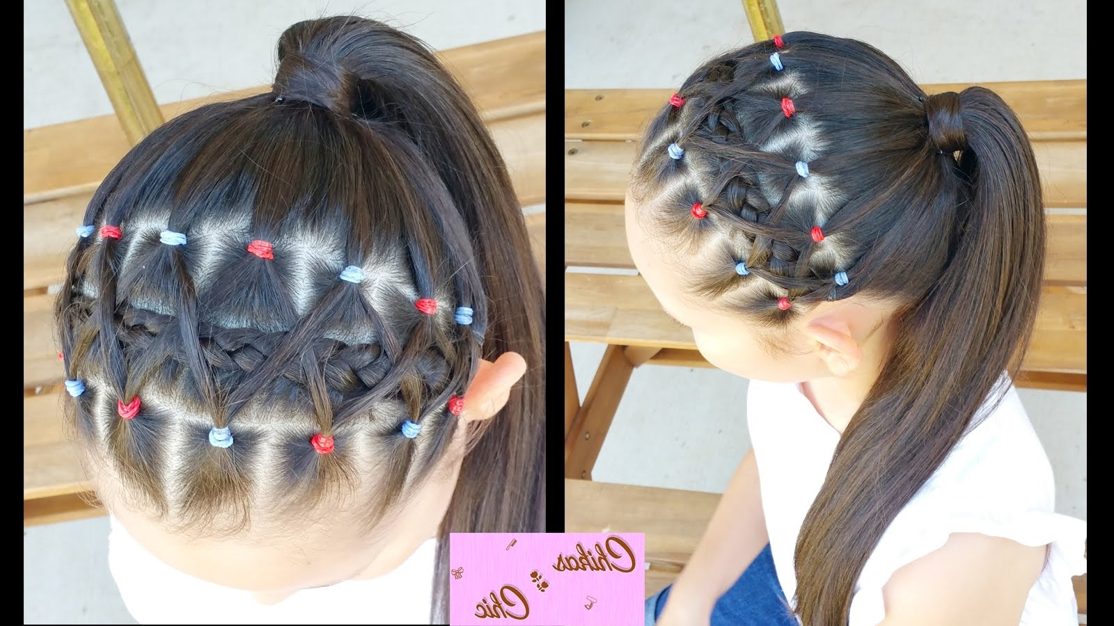 Well Known Braid Hairstyles With Rubber Bands In Elastic Bands Braided Headband! (View 15 of 15)