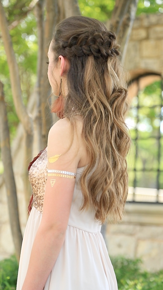 Well Known Braided Hairstyles For Homecoming Within Braided Half Up (View 13 of 15)
