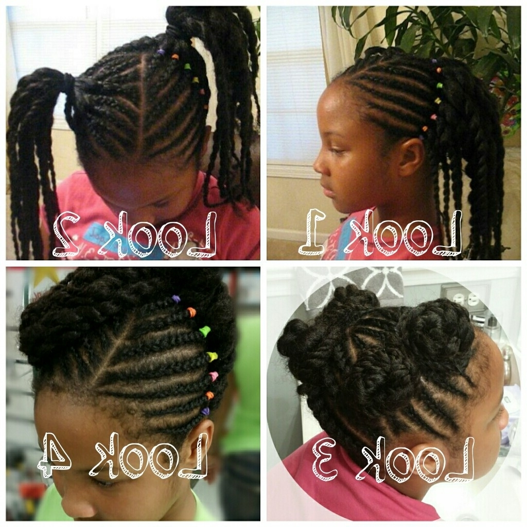 Well Known Braided Hairstyles For Little Black Girl Throughout Top 5 Little Girl Hairstyles For Summer (View 13 of 15)