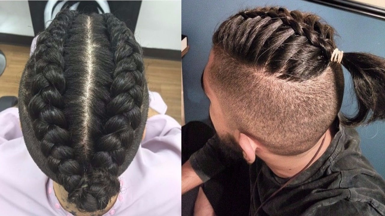 Featured Photo of Braided Hairstyles For Mens