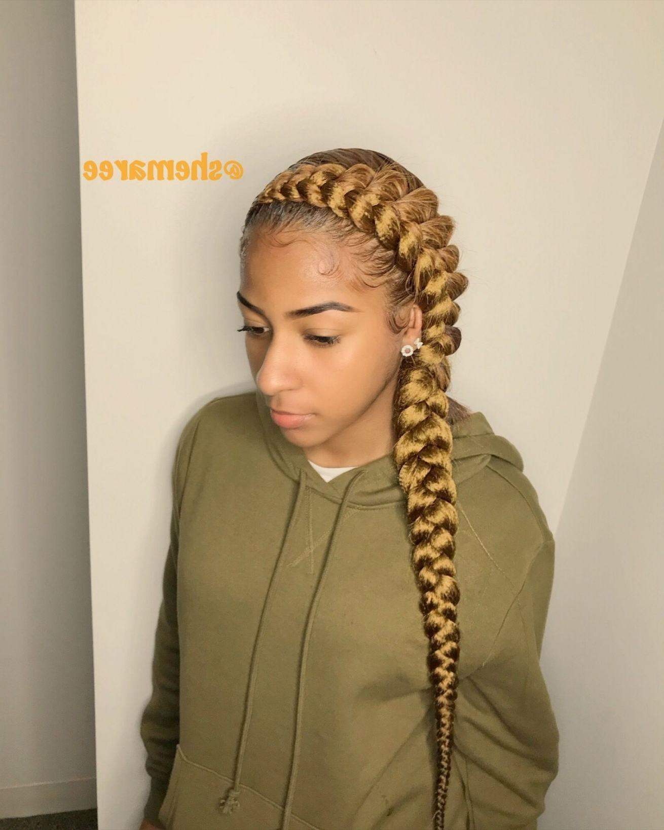 Well Known Braided Hairstyles For Older Ladies Pertaining To Cornrow Hairstyle For Older Women New Pinshemaree Campbell On (View 14 of 15)