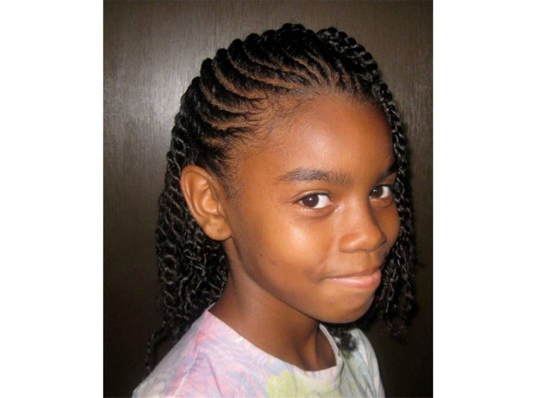 Well Known Braided Hairstyles For Short African American Hair Regarding Braided Hairstyles For Short Naturalrican American Hair Braid Cute (View 14 of 15)