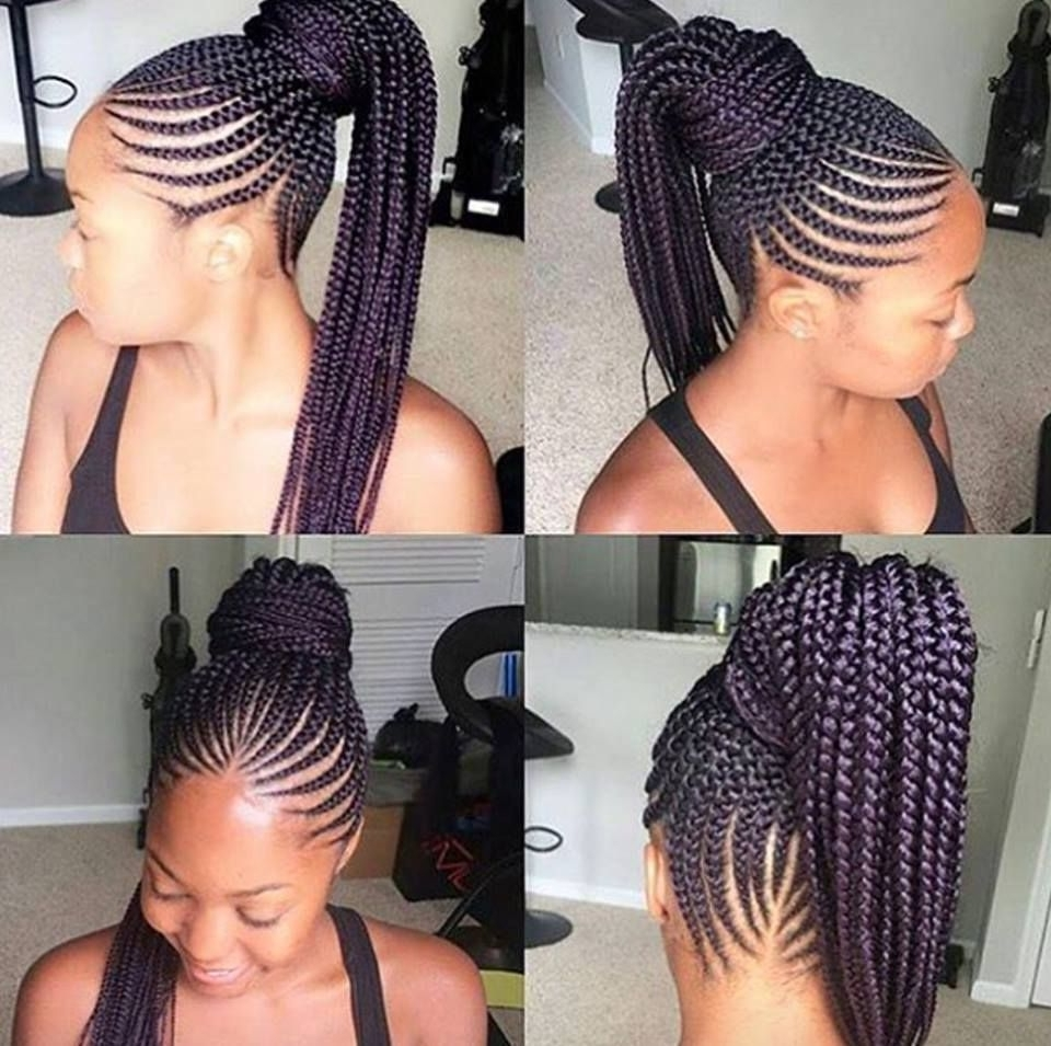 Well Known Ghanaian Braided Hairstyles Intended For Ghana Braids Hairstyles (View 6 of 15)