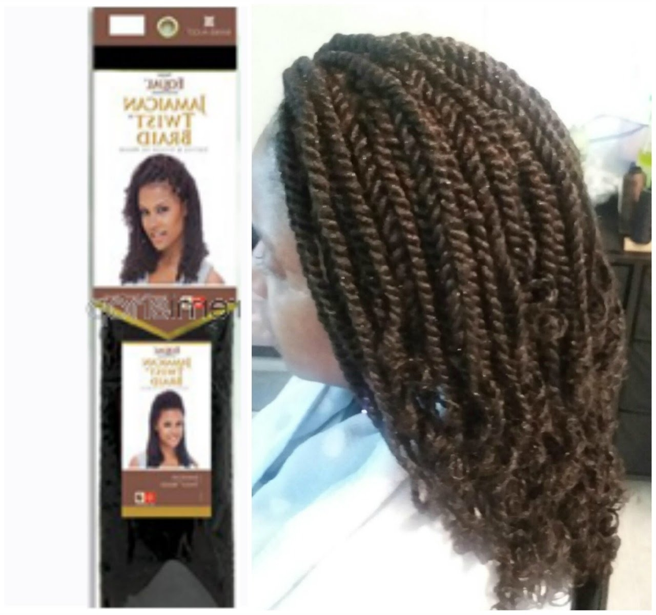Well Known Jamaican Braided Hairstyles Intended For Freetress Equal Jamaican Twist Braid – Youtube (View 15 of 15)