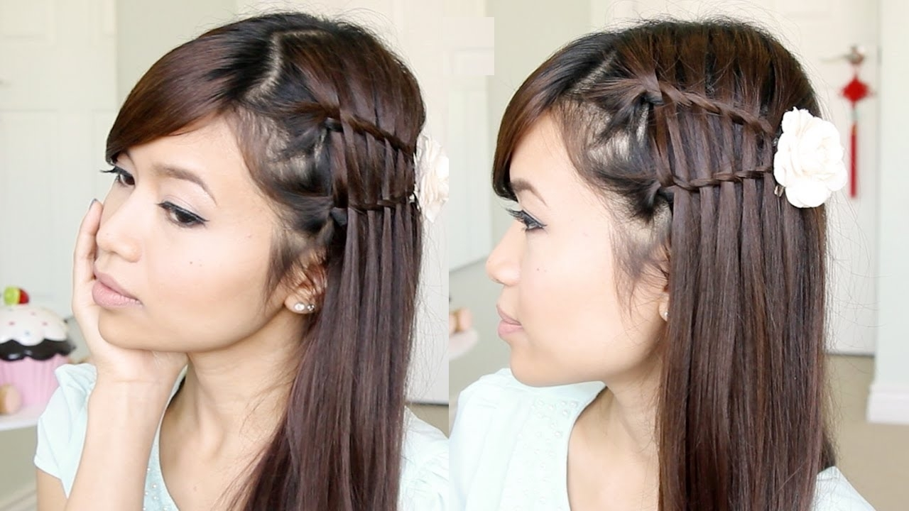 Well Known Quick Braided Hairstyles For Medium Length Hair With Regard To 5 Popular Straight Hairstyles – Style Samba (View 14 of 15)