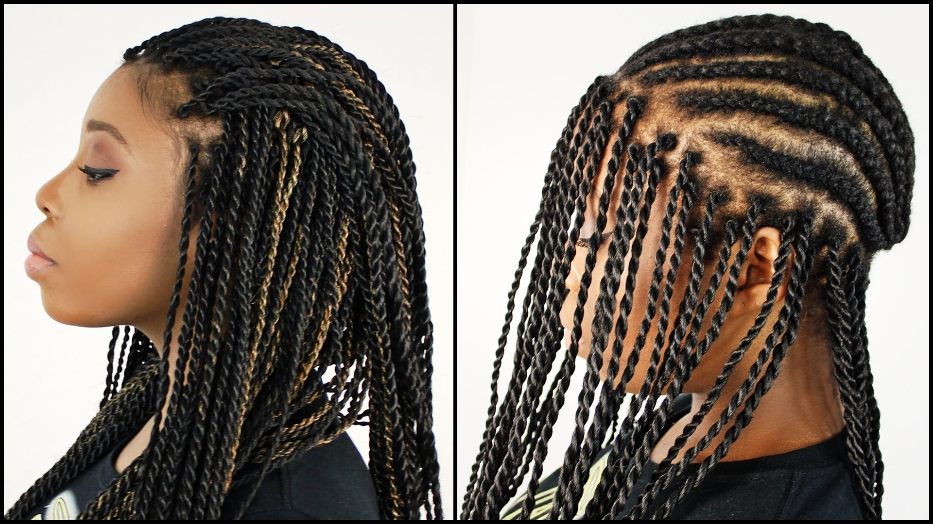 Well Known Senegalese Braided Hairstyles With Regard To Mrs Rutters Perimeter Crochet Senegalese Twist Full Dvd Tutorial (View 10 of 15)