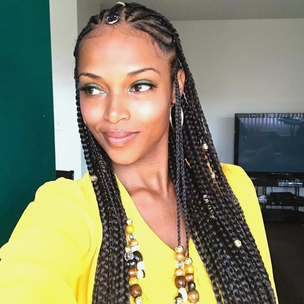 Well Liked Alicia Keys Braided Hairstyles Regarding Braid Hairstyles : Fresh Alicia Keys Braided Hairstyles Collection (View 8 of 15)