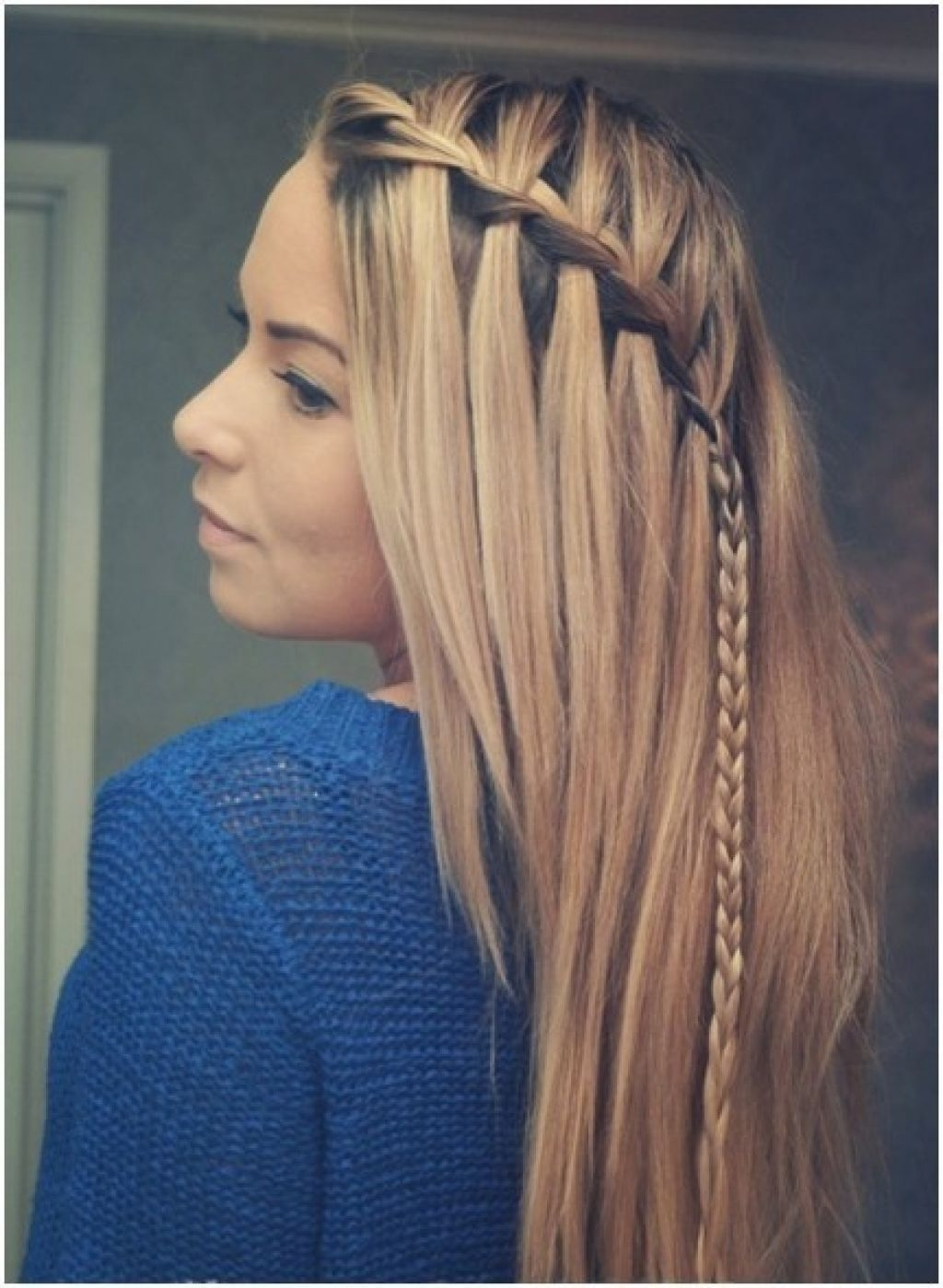 Well Liked Braided Hairstyles For Straight Hair Inside Picture Of Cute Braid Ideas, Long Hairstyles For Straight Hair (View 4 of 15)